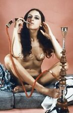 Vintage 1950s-60s German Nude 35mm Slide / Negative- Artistic- Hookah Pipe #1