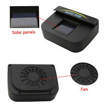 Solar Powered Car SUV Window Windshield Auto Air Vent Cooling Fan System Cooler