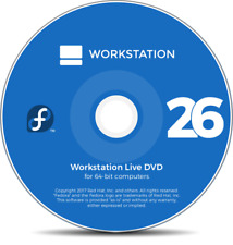 Fedora 26 Linux Operating System. Live or install DVD 64bit Workstation
