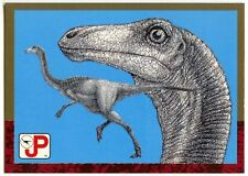 Gallimimus #80 Jurassic Park 1993 Topps German Trade Card (C1271)