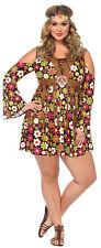 Hippie Borraja Adulto Mujer Disfraz Multicolor Disfraz Leg Avenue