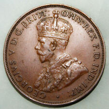 Australia 1 Large Penny 1934 Extremely Fine Coin *** Key Date