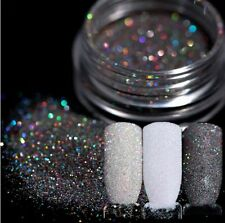 3Boxes/Set Nail Art Powder Dust Holographicss Glitter Shining  Decoration