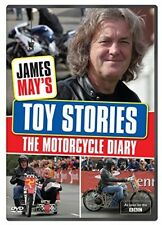 JAMES MAY 2014: TOY STORIES: THE MOTORCYCLE DIARY Isle of Man TT - NEW Rg2/4 DVD