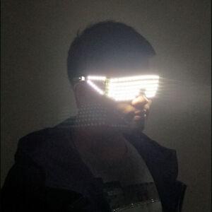 LED Stage Lights Glasses Laser Glasses DJ Nightclub Music Bar Party Halloween