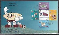 Qatar, Scott cat. 983 A-E. Arabian Gulf Soccer Cup issue. First day cover.
