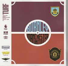 Burnley v Manchester United Programme - 19/20 Premier League