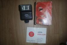 SUNPAK MX114 FLASH BOXED WITH INSTRUCTIONS