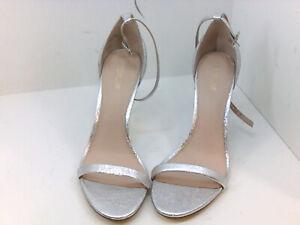 Rachel Zoe Women's Shoes lol7d1 Heeled Sandals, Silver, Size 9.5