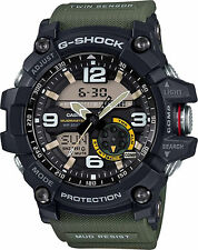 Casio Men's Master of G Mudmaster GG1000-1A3 'G-Shock' Quartz Casual Watch Green