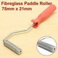 Fibreglass Bubble Burster Paddle Roller 75x21mm Plastic Handle   y