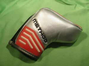 Nike Method Core blade putter headcover...Magnetic closure