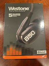 New Sealed Westone B50 Five-Driver True-Fit Earphones w Bluetooth Cable 70026