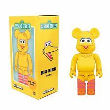 Sesame Street Big Bird 400% Medicom Toy Bearbrick Be@rbrick Yellow Action Figure