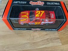 Quartzo McDonald's NASCAR 2017 Ford Thunderbird 1:43 Scale Die-Cast Car In Case