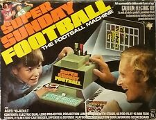 Vintage 1973 Hasbro Super Sunday Football Machine Projector *WORKING*