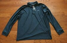 Under Armour Golf Long Sleeve Dark Blue Polo Shirt - Men's 3XL XXXL $69.99 *NWT*
