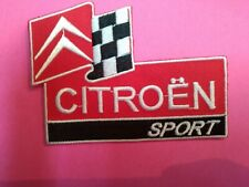 A441 PATCH ECUSSON CITROEN SPORT 10*7,5 CM