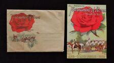 >Orig. 1939 ROSE BOWL *Tournament of Roses* GOLDEN JUBILEE MAGAZINE + MAILER !!!
