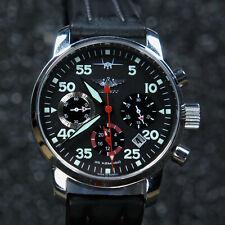 Russian Mechanical Watch Chronograph Aviator Berkut POLJOT 31681 SU C-37