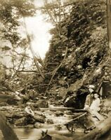 """1888 Devil's Gully, Charlestown, New Hampshire Old Photo 8.5"""" x 11"""" Reprint"""