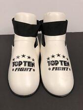 Top Ten White Fight Foot Pads Karate Taekwondo Fighting Guards Ml