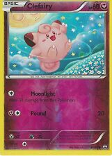 POKEMON GENERATION PACK CARD - CLEFAIRY - 50/83 REV HOLO