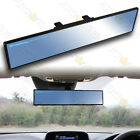 Universal Flat 360mm Wide Broadway Blue Tint Interior Clip On Rear View Mirror