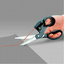 Household Laser Guided Sewing Cut Straight Fast Fabric Paper Craft Scissors Tool