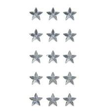 American Crafts Dcwv Star Gem Foam Stickers - Self-Adhesive - Clear, 15 Pieces