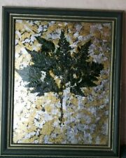 Abstract Tree Wall Art Silver Gold Foil Decorative Artwork Wall Hanging Picture