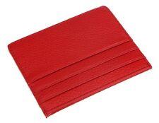 DEEZOMO Genuine Leather RFID Blocking Card Case Wallet Slim Super Thin 6 Card Sl