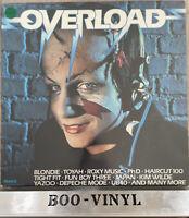 Overload Various Vinyl LP Record Album 1982 Depeche Mode Yazoo Japan 80s EX/EX