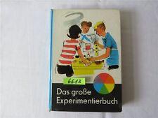 Das große Experimentierbuch DDR Kinderbuch 1973 Kinderbuchverlag Berlin