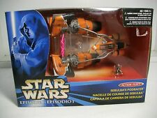 Star Wars Episode 1 Action Fleet ~ SEBULBA'S PODRACER W/POSEABLE SEBULBA  ~MISB
