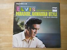 Elvis Presley LP,  Paradise Hawaiian Style, RCA # LSP 3643, Made in Germany