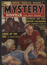Mystery Novels and Short Stories1939 September #1.  Pulp