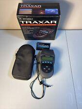 Motorola Traxar GPS 6 Channel Receiver Model TRX61000A1 Bundle Case,Original Box