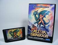 ALISIA DRAGOON für Sega Mega Drive - nur MD Spiel Modul und OVP ohne Anleitung