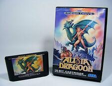 Alisia Dragoon para Sega Mega Drive-sólo MD juego módulo y en su embalaje original sin instrucciones