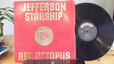 Jefferson Starship RED OCTOPUS LP ON GRUNT RECORDS EMBOSSED COVER