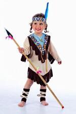 Disfraz india niña infantil cherokee talla 1 año