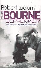 THE BOURNE SUPREMACY, ROBERT LUDLUM, PAPERBACK