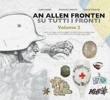 Libro An Allen Fronten 2 - Kappenabzeichen e oggetti personali WW1 da scavo Kuk
