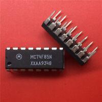 10PCS  MC74F85N 16-Pin Dip Integrated Circuit New
