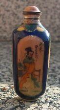 Zauberhafter kleiner Keramik Parfümflacon -wohl China - Japan - Handmalerei