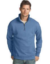 Hanes Men?s Pullover Nano Premium Lightweight Quarter Zip Jacket Sweatshirt NWT