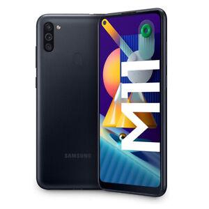 "Cellulare Smartphone Samsung Galaxy M11 SM-M115 6,4"" 3+32GB RAM Dual Sim Black"