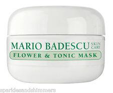 Mario Badescu Flower & Tonic Mask 14g Oily Skin Face/facial Masque Travel Size