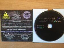"BIOMECHANICAL -""Cannibalised"" - Rare Promo Only CD 2007- Thrash- NEW"